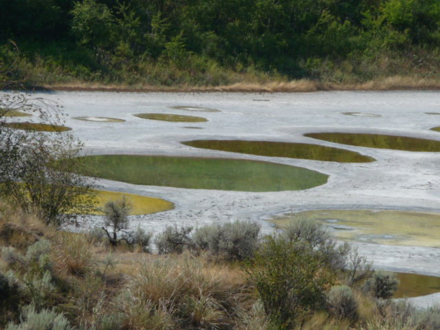 Spotted Lake, Colombie-Britannique, Canada