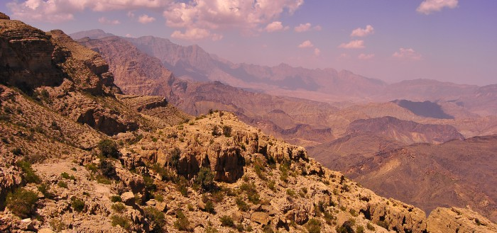 Jebel Shams - vue panoramique