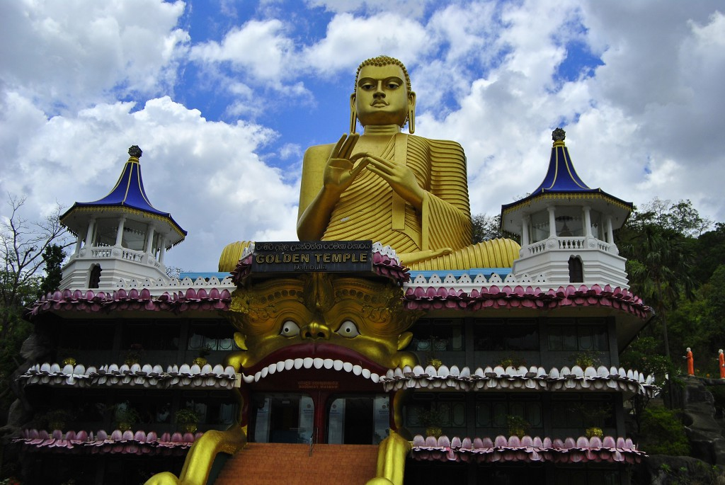 Golden Temple - Dambulla, Sri Lanka