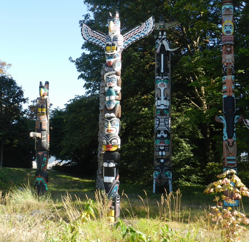 Totems - Stanley Park