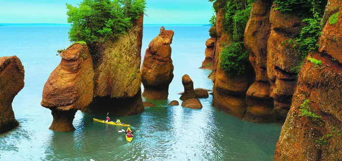 Hopewell Rocks - Nouveau Brunswick