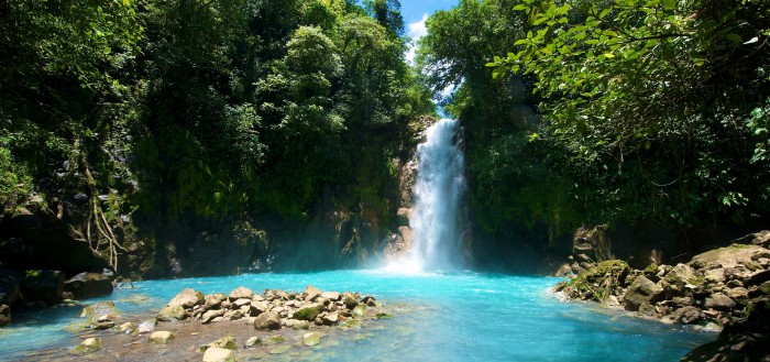 Tenorio Waterfall - Costa Rica