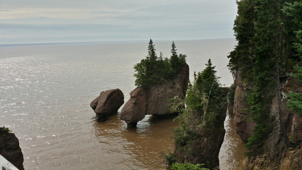 Rochers Hopewell - Baie de Fundy