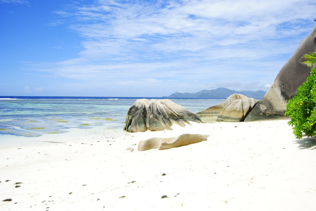 Ile de la Digue - Plage d'Anse Source d'Argent