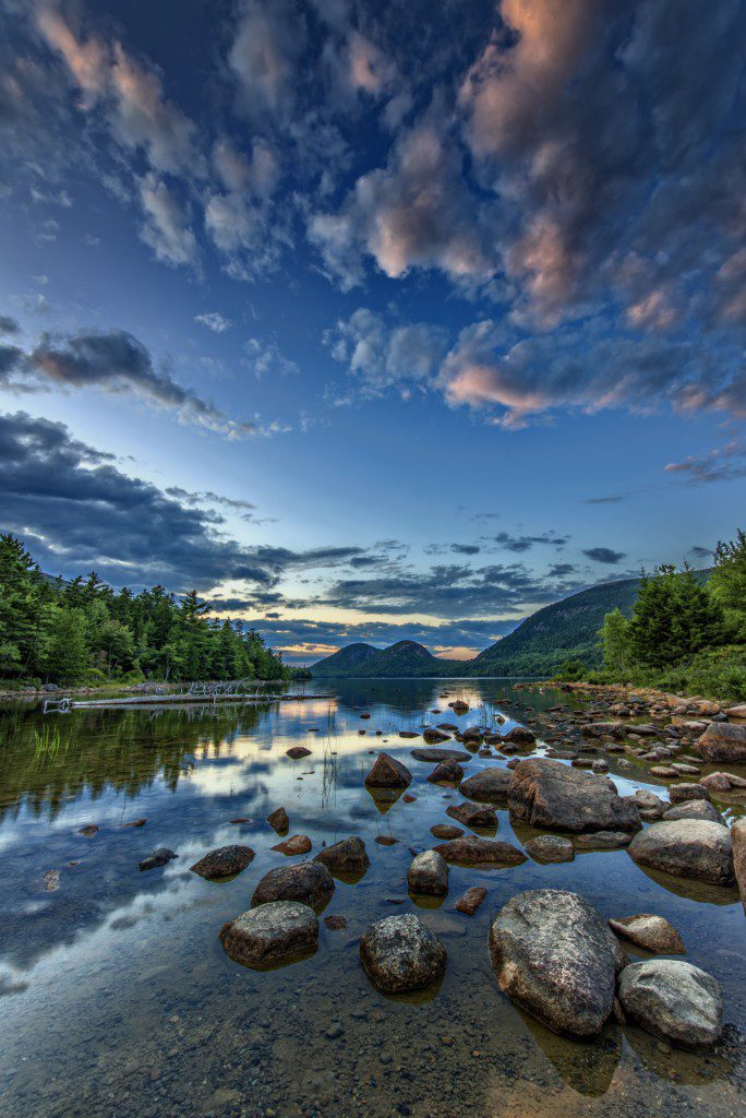 Jordan Pond - Acadia National Park, Maine.