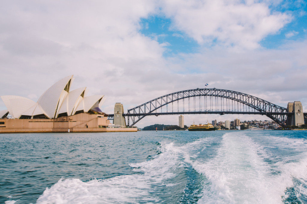 Sydney Opera & Harbour Bridge