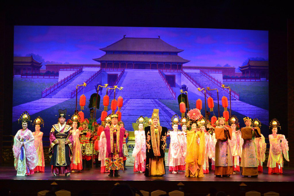 Spectacle en Chine