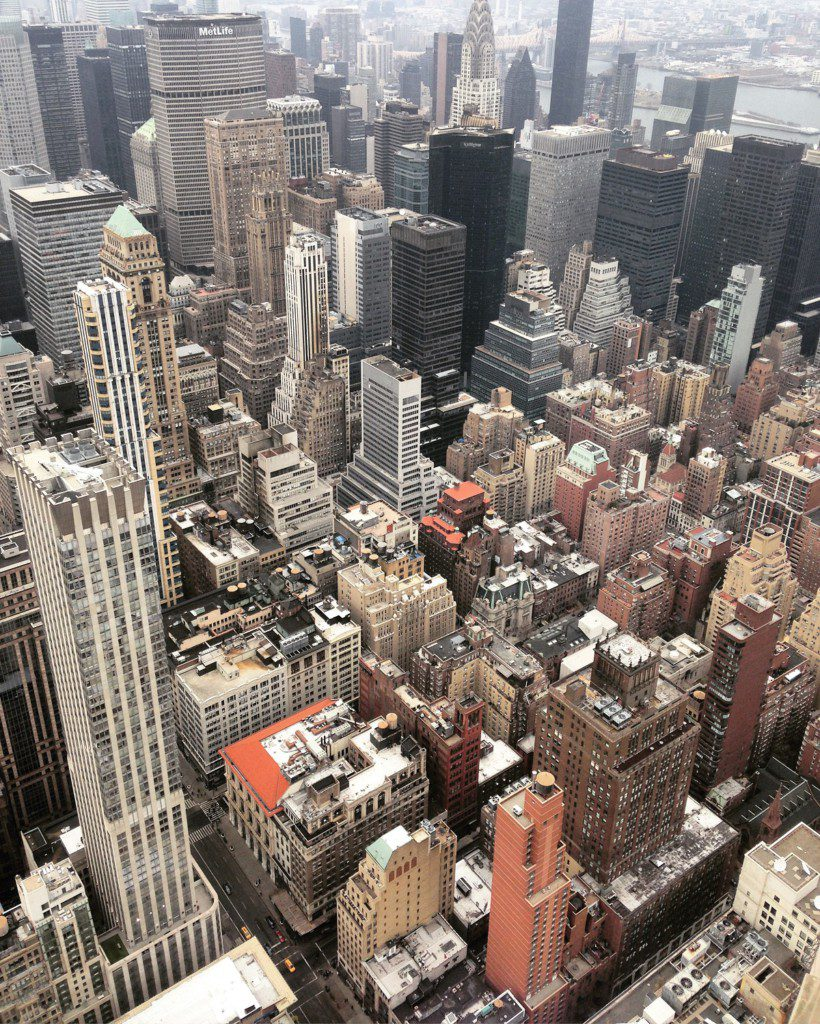 New-York depuis l'Empire State building