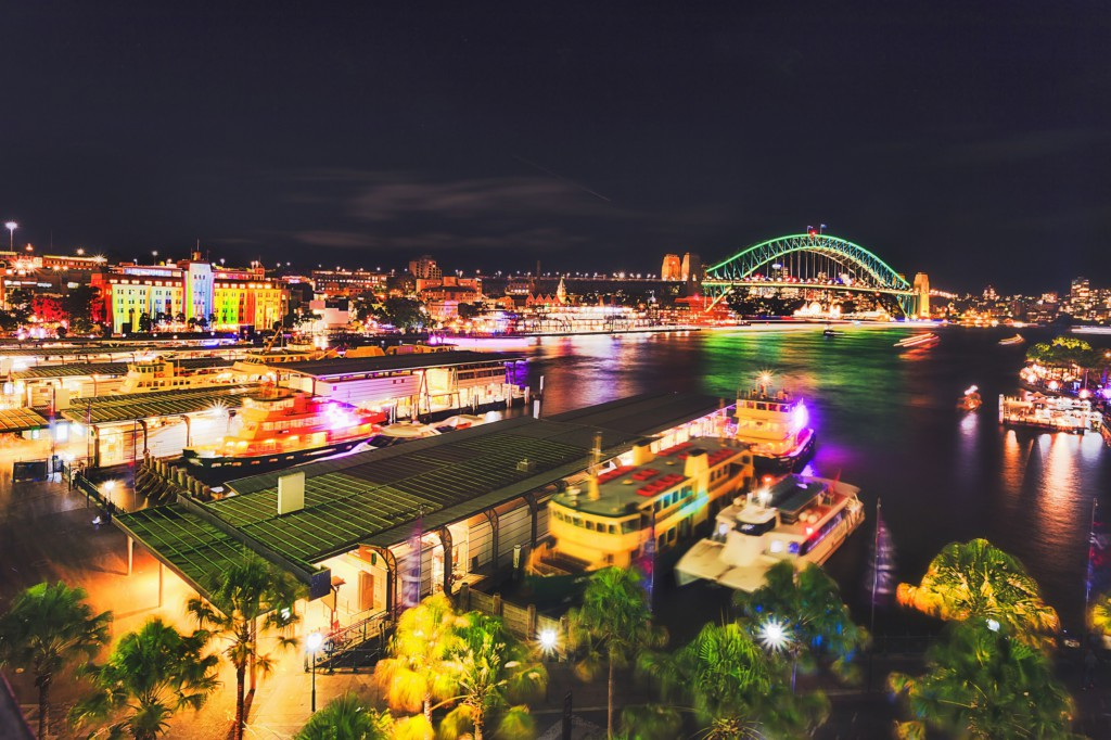 Vivid Sydney, Darling Harbour