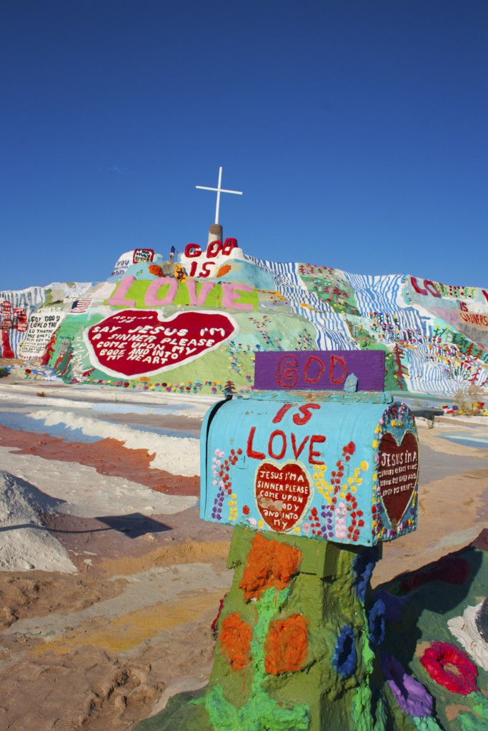 Salvation Mountain, Californie