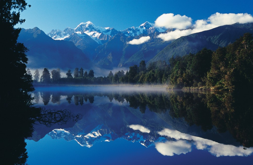 Lake Matheson, West-Coast, Nouvelle-Zélande