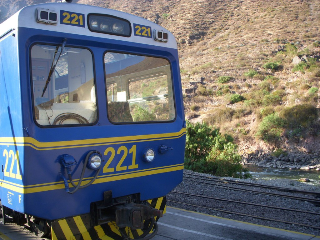Train pour le Machu Picchu