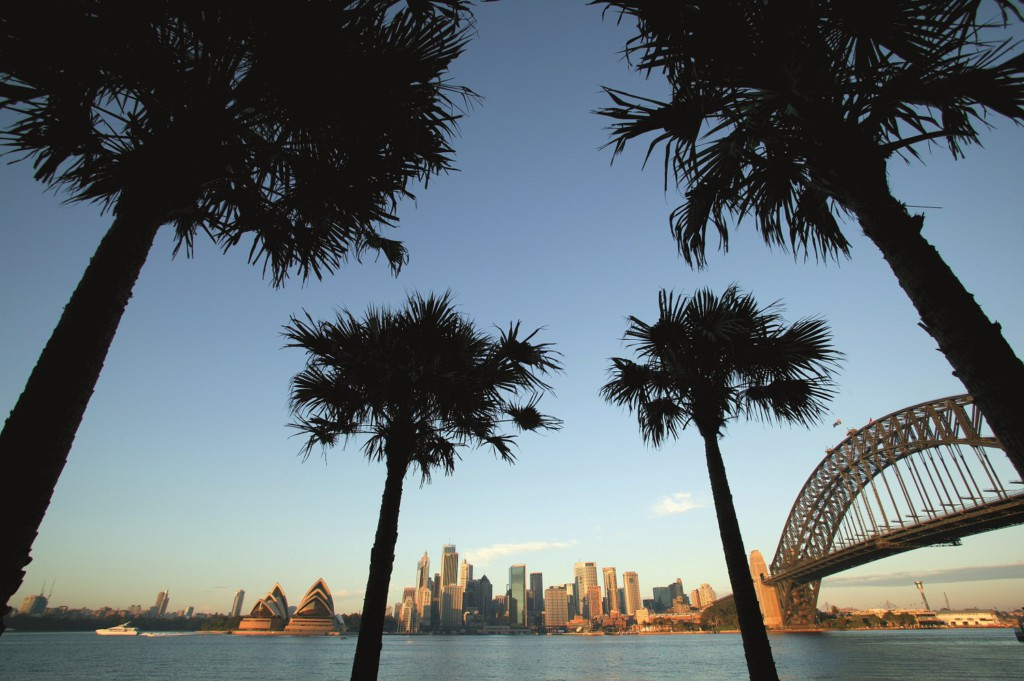 Sydney Harbour City skyline