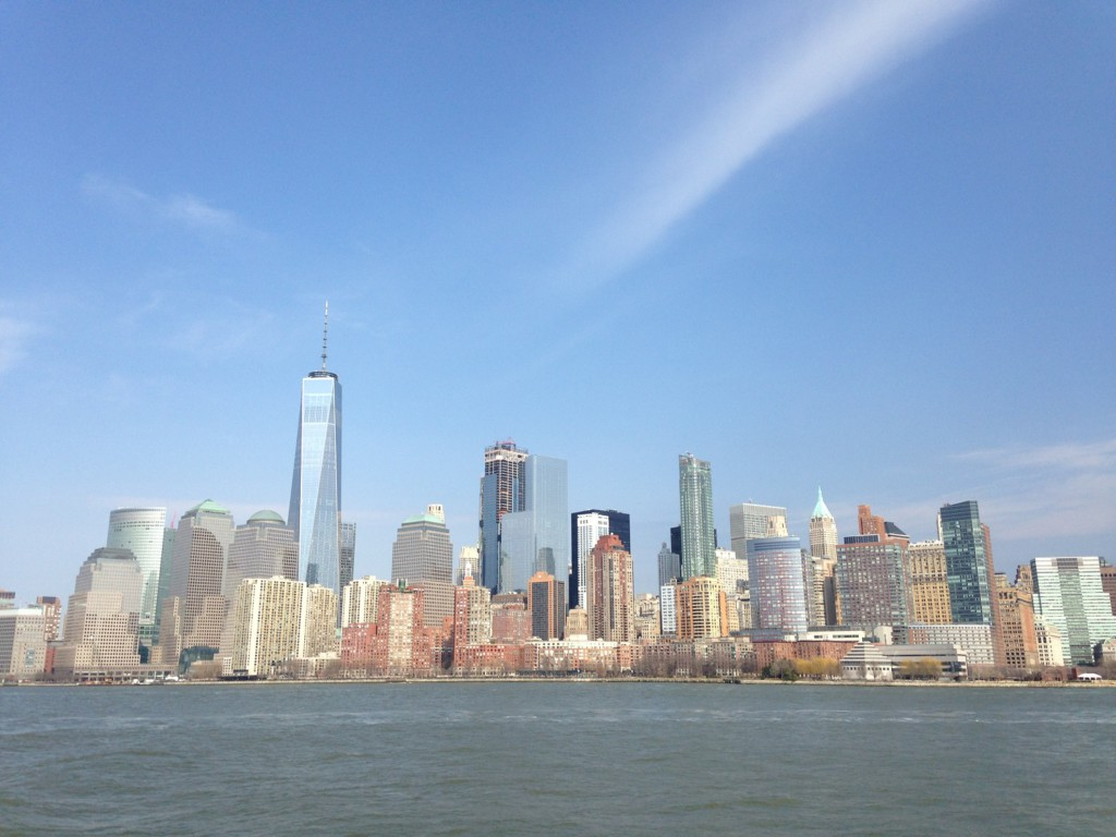 La skyline de Manhattan, New York, USA