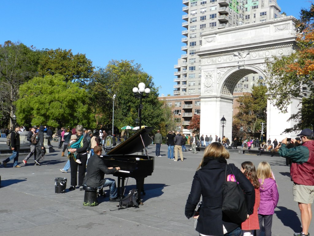 Washington Square, New York, USA