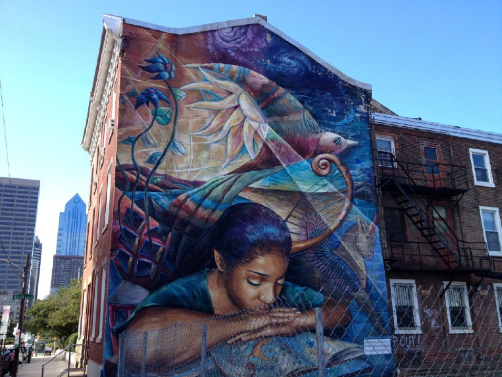 Fresque murale, Baltimore, Maryland, USA