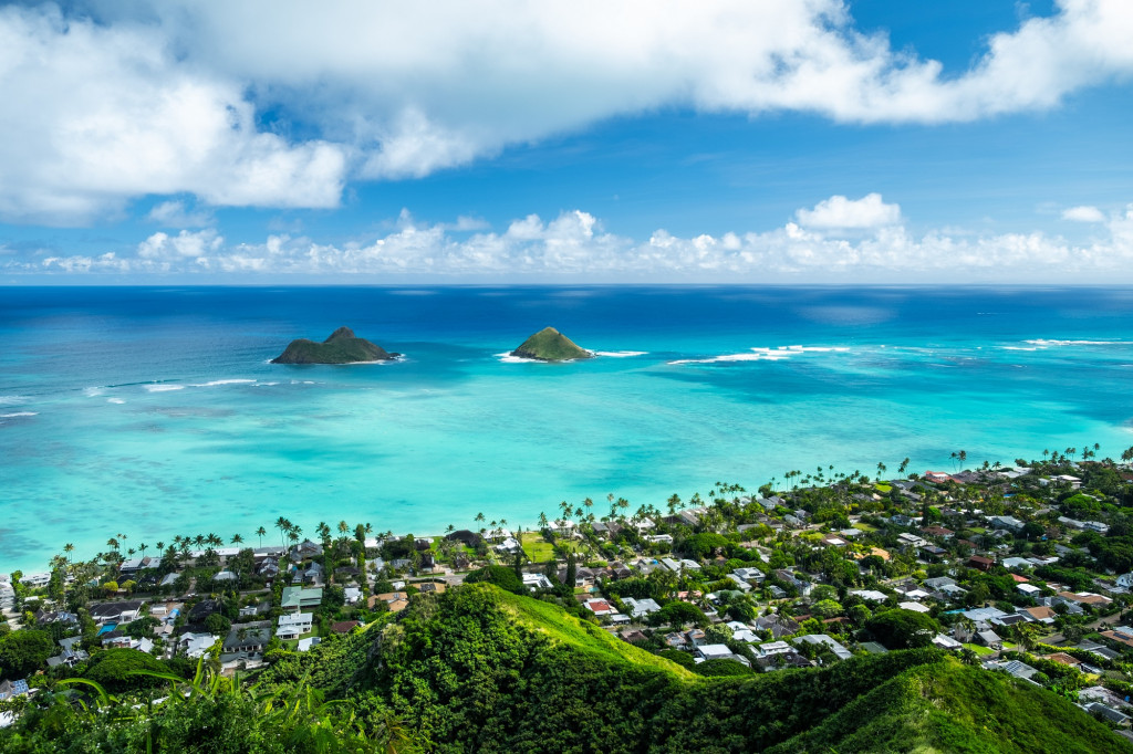 Mokulua Islands, Oahu, Hawaï